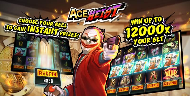 แนะนำเกมส์ดี Ace Heist สล็อตน่าลงทุน เล่นได้เงินคืน ทำกำไรมหาศาล!!