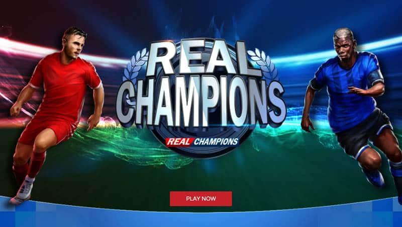 Real Champions เกมสล็อตฟุตบอล Xin Game โบนัสดีแจ็คพ็อตแตกกระจาย!!