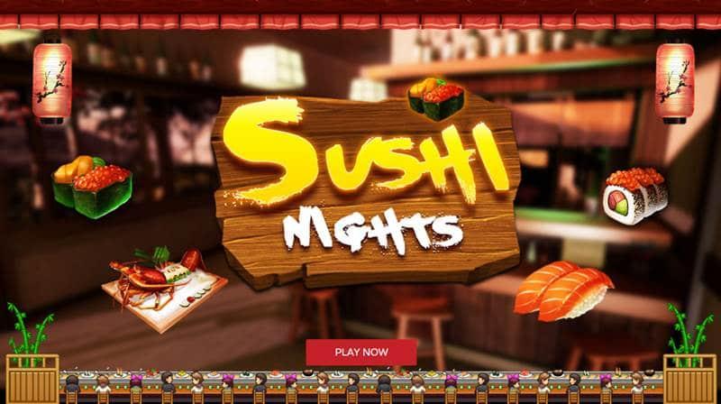 เกมส์ร้านซูชิ Sushi Nights สล็อตญี่ปุ่นออนไลน์โดย Xin Game