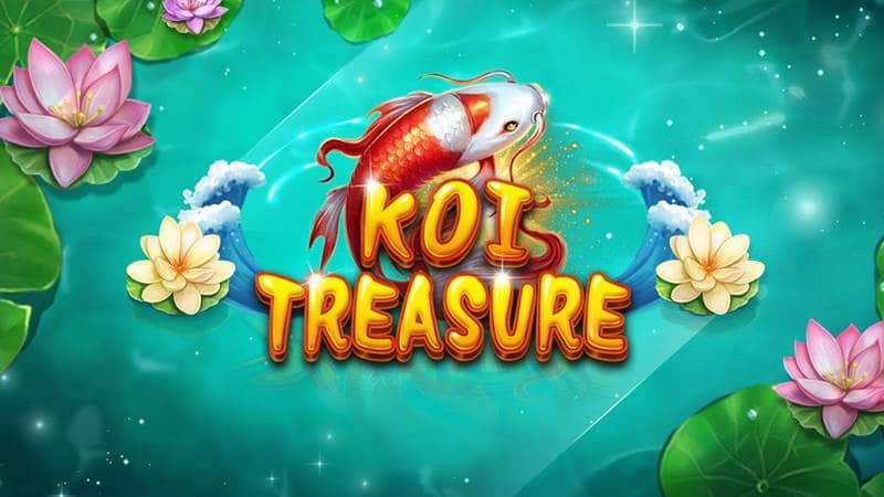 Koi Treasure เกมปลาคาร์ฟ xin gaming slot แจ็คพอตบ่อย ได้กำไรสูงน่าลงทุน