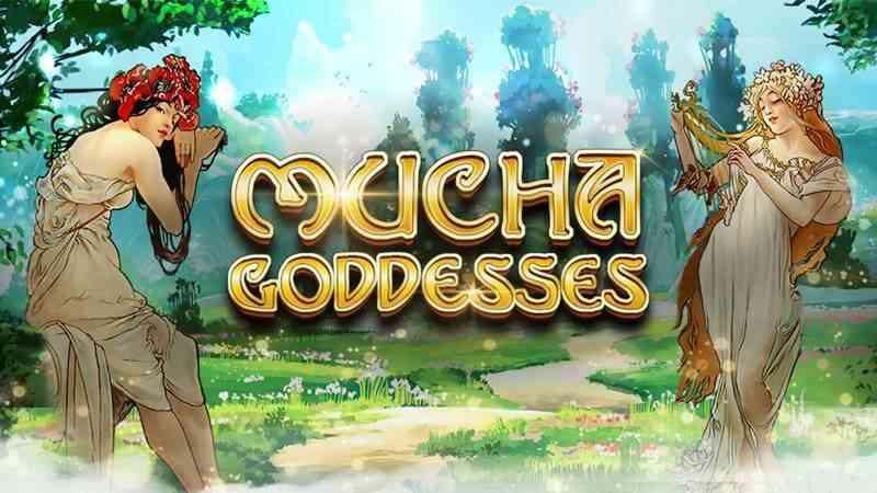 xin gaming slot สล็อตออนไลน์ Mucha Goddesses ภาพวาดเทพีสี่ฤดู