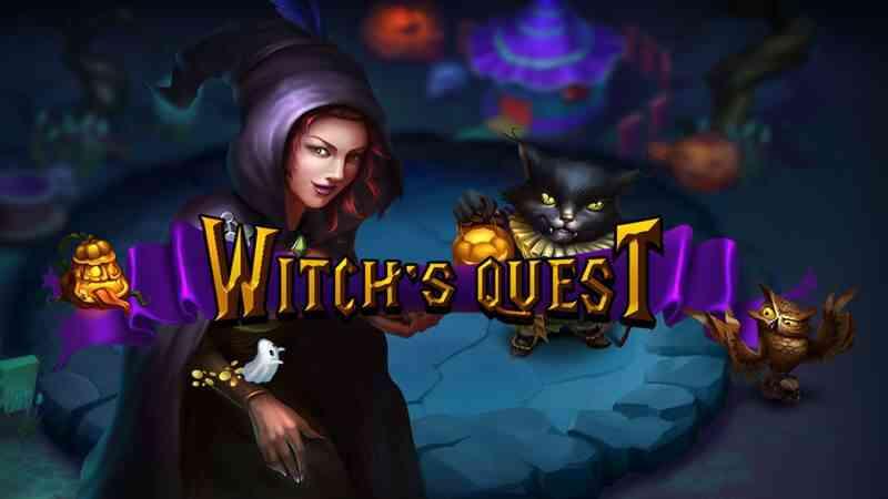 Witch's Quest สล็อตออนไลน์ xin game แจ็คพอตแตก โบนัสได้กำไรสูง